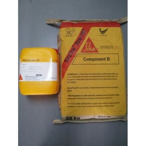 sikatop seal 107 cementitious waterproofing slurry and