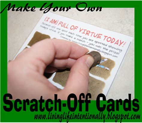make your own scratch card diy scratch cards with free printable