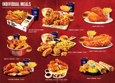 kfc lunch buffet hours kfc menu www imgkid the image kid has it
