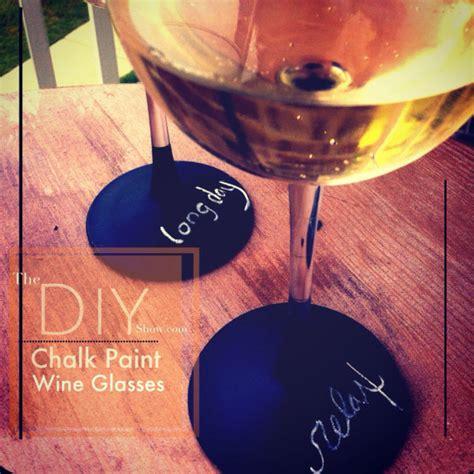 diy chalk paint glasses hometalk diy chalk paint wine glasses