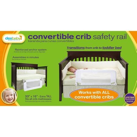 dex baby crib rail dex products convertible crib bed rail 33 quot x 16 quot target