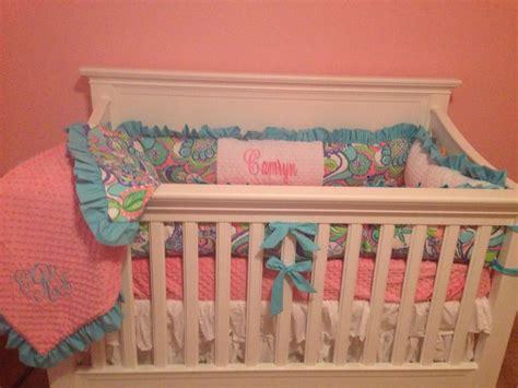 lilly pulitzer crib bedding camryn s lilly pulitzer custom crib bedding camryn s