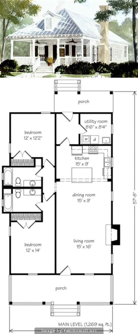simple cottage floor plans best 25 small cottage plans ideas on small
