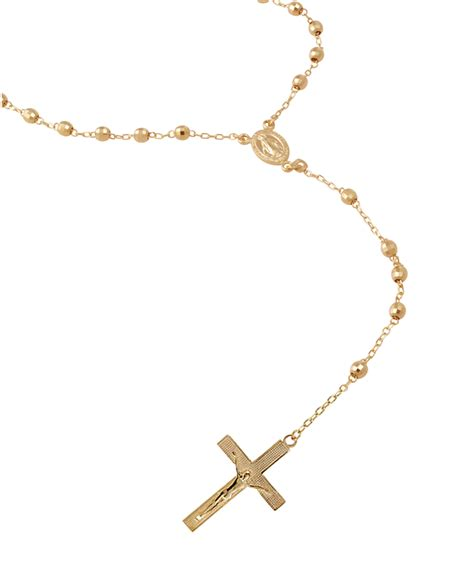 gold rosary gold gold chain rosary