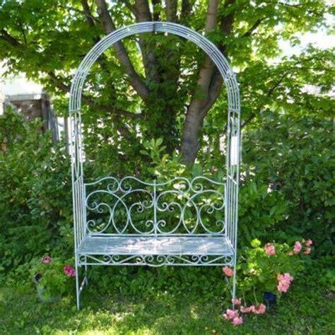 Garden Arch And Bench Metal Garden Bench Seat With Arch Garden Arbour Garden