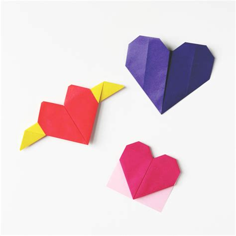 origami hearts how to make an origami gathering