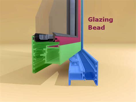 glazing bead smarts alitherm 47 windows frame sash bead