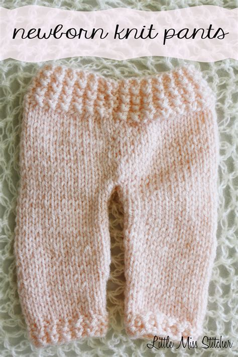knitted shorts pattern miss stitcher newborn knit free pattern
