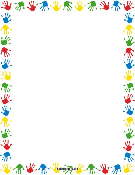 kids borders clipart clipground