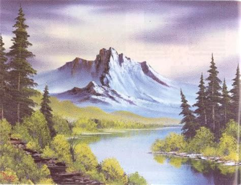 bob ross painting guide bob ross of painting book 9 100s of photos step by