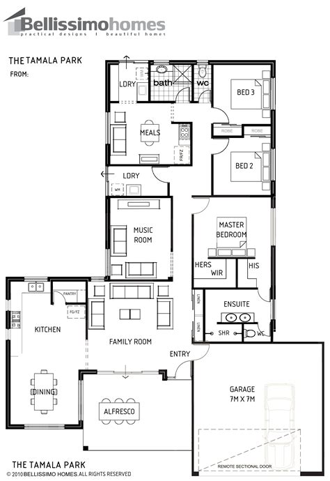 single storey bellissimo homes house designs new home