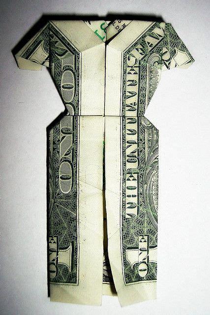 dollar bill origami dress dollar bill dress by cedison via flickr origami