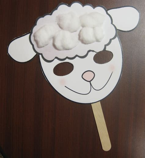 sheep crafts for animal crafts teaching nook
