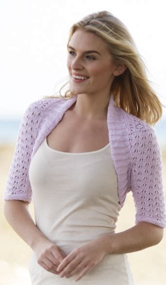 knit shrug pattern free shrug knitting pattern lovely pattern for
