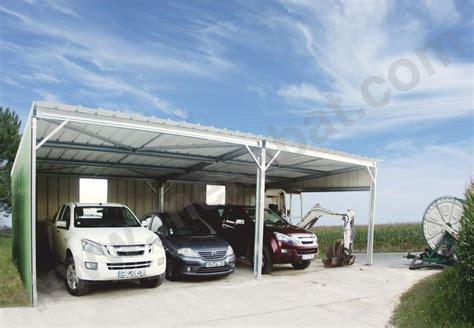 Garage Plans With Carport abris voiture en kit carport abris m 233 tallique en kit