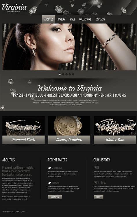 jewelry websites jewelry website template 43100