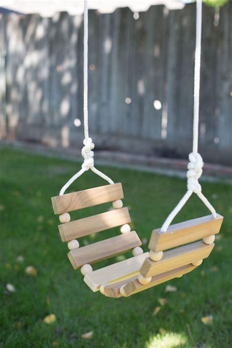 diy backyard swing best 25 diy swing ideas on swinging
