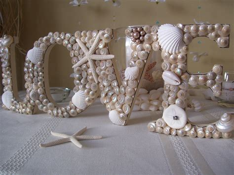 seashell decorations nautical weddings seashell wedding sign onewed