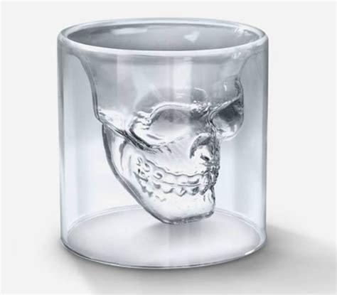 cool glass doomed skull glass cool material