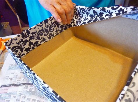 how to make a card box for wedding reception wedding card box 4 tier fabric covered crafts unleashed