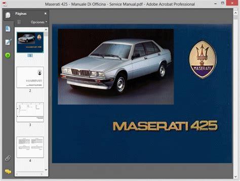 free car manuals to download 1990 maserati 228 on board diagnostic system service manual 1990 maserati 228 service manual free service manual free repair manual for a