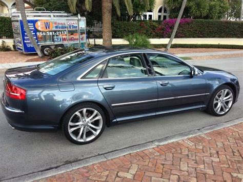 2008 Audi S8 For Sale by Purchase Used 2008 Audi S8 V10 22k One Owner