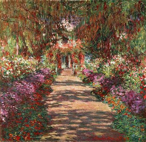 Der Garten Claude Monet In Giverny by Claude Monet K 252 Nstler Gem 228 Lde Kunstdruck Weg In Monets