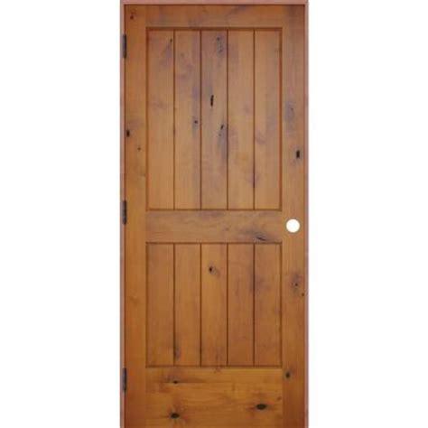 28x80 interior door pacific entries 32 in x 80 in rustic prefinished 2 panel
