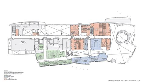 Parking Garage Floor Plan canadian high arctic research station chars floor plans