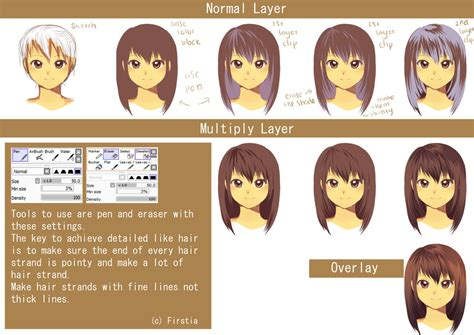 how to shade hair hair cell shading tutorial by firstiart on deviantart