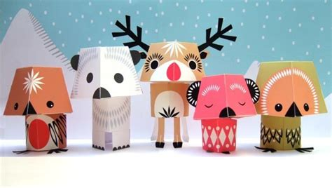 animal paper crafts animal paper crafts designed by mibo gadgetsin