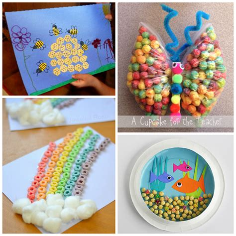 Fantastic Crafts Using Cereal Crafty Morning