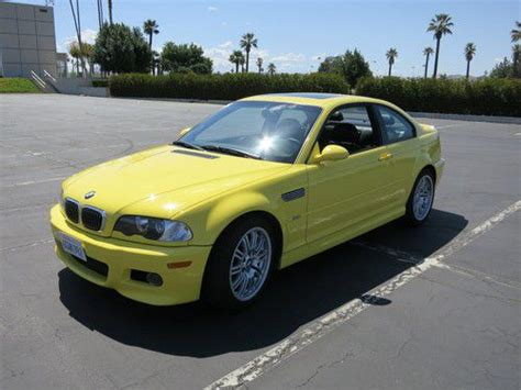 repair anti lock braking 2002 bmw m3 seat position control find used 2002 bmw m3 dakar yellow e46 s54 in riverside california united states