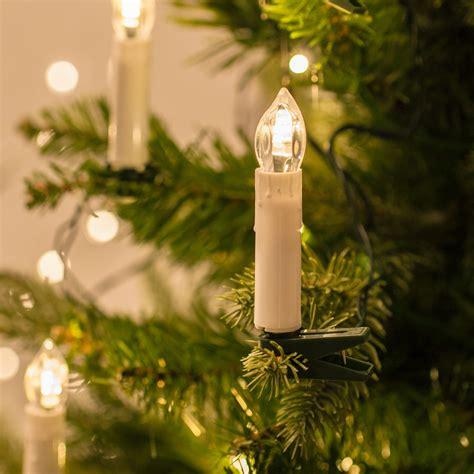 kerzen weihnachtsbaum 20 warm white candle lights with tree
