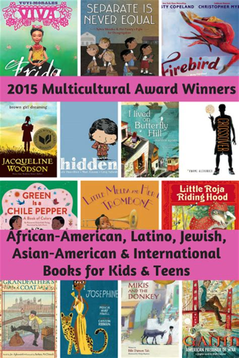 international picture books 2015 multicultural award winners in books