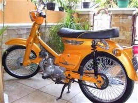 Modifikasi Motor Kalong by Modifikasi Honda C70 Classic Cup Myotomotif