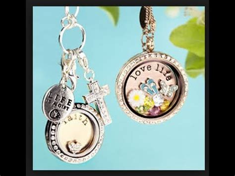Jewerly Giveaway Origami Owl Living Locket Review