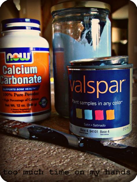 diy chalk paint using calcium carbonate chalk paint how to