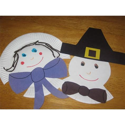 pilgrim paper plate craft 8 bountiful thanksgiving preschool crafts for the classroom