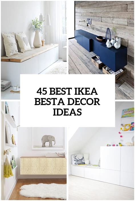 besta unit ideas 45 ways to use ikea besta units in home d 233 cor digsdigs