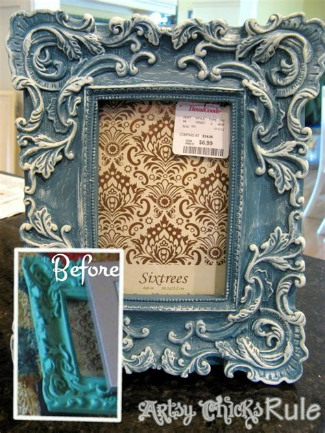 chalk paint picture frames sloan chalk paint it s not just for furniture
