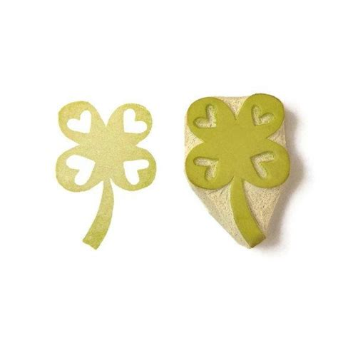 leaf rubber st lucky in four leaf clover st rubber st