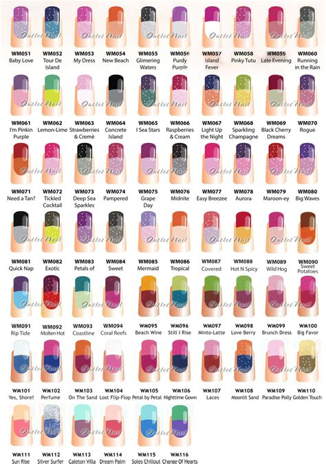 colors and mood chart wavegel mood part b change gel more 66 colors than
