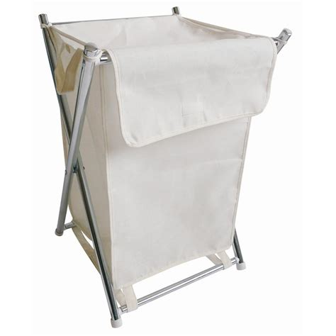 canvas laundry bag metal folding canvas laundry bag at home