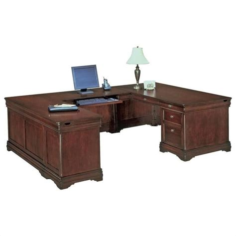 dmi rue de lyon executive u shaped desk 7684 5xx