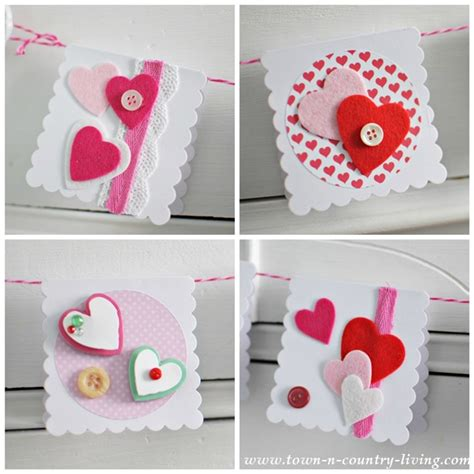 how to make cool valentines day cards ten easy s day craft projects town country