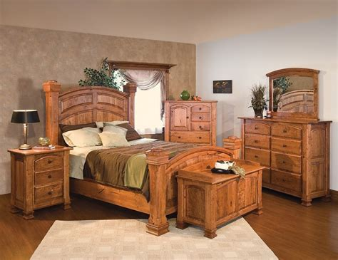 solid cherry bedroom furniture sets luxury amish rustic cherry bedroom set solid wood