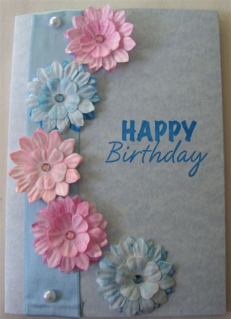 make a birthday card 32 handmade birthday card ideas and images