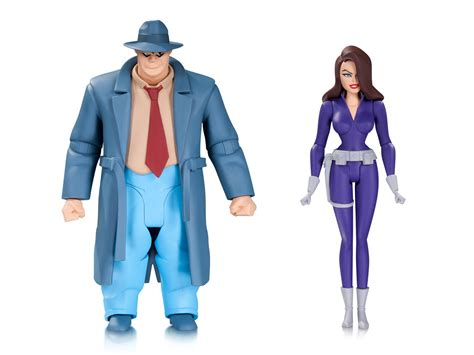 animated figures new dc collectibles batman animated figures revealed the
