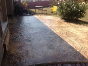 seal concrete patio how to re seal a stained concrete patio funnydog tv